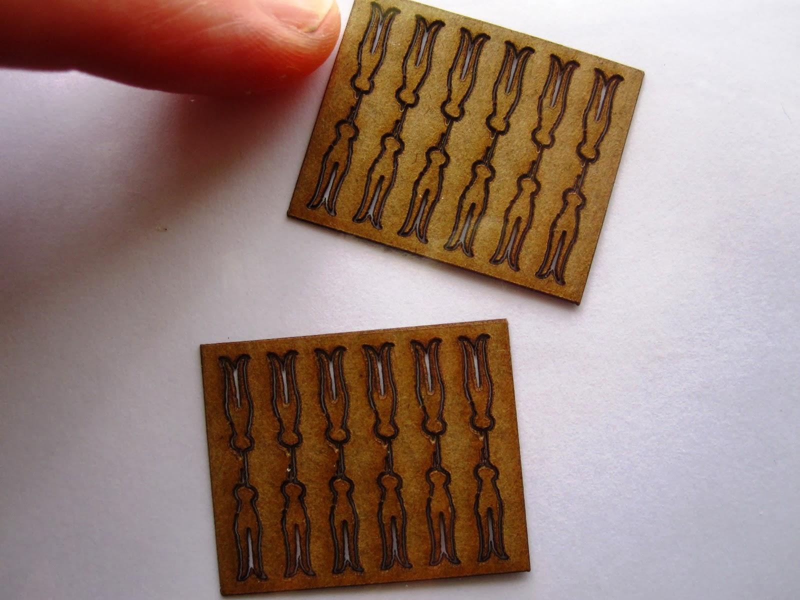 Adelaide Cann's lasercut miniature peg kitset