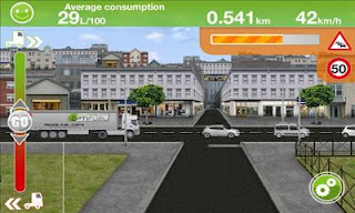 Screenshots of the Truck Fuel Eco Driving for Android tablet, phone.
