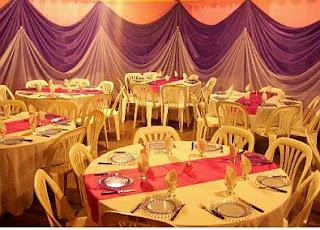 Rooms decoration for graduation parties