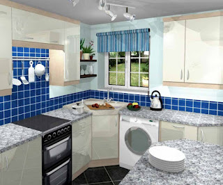 Desain Dapur Cantik Dengan Dekorasi Kontemporer: Perpaduan Gaya Klasik nan Unik
