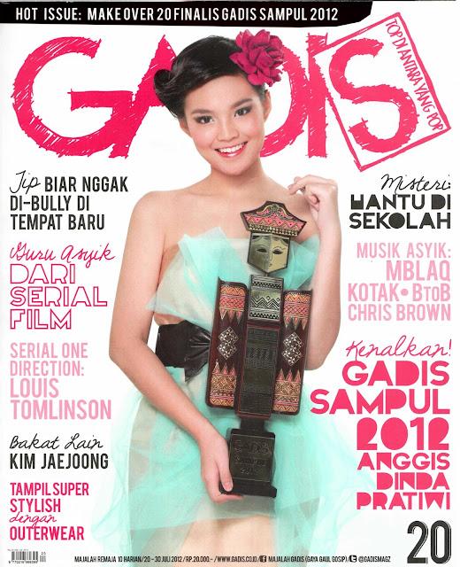 Majalah Gadis 2012 no 20 Anggis Dinda Pratiwi