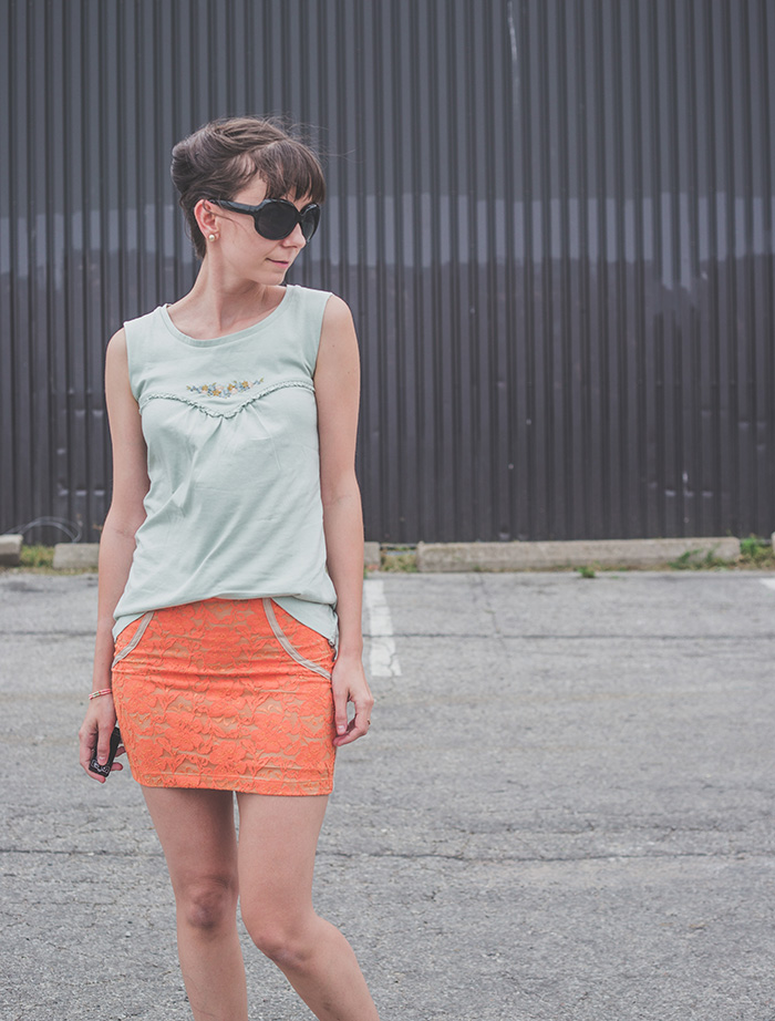 Lochers-Mini-Skirt