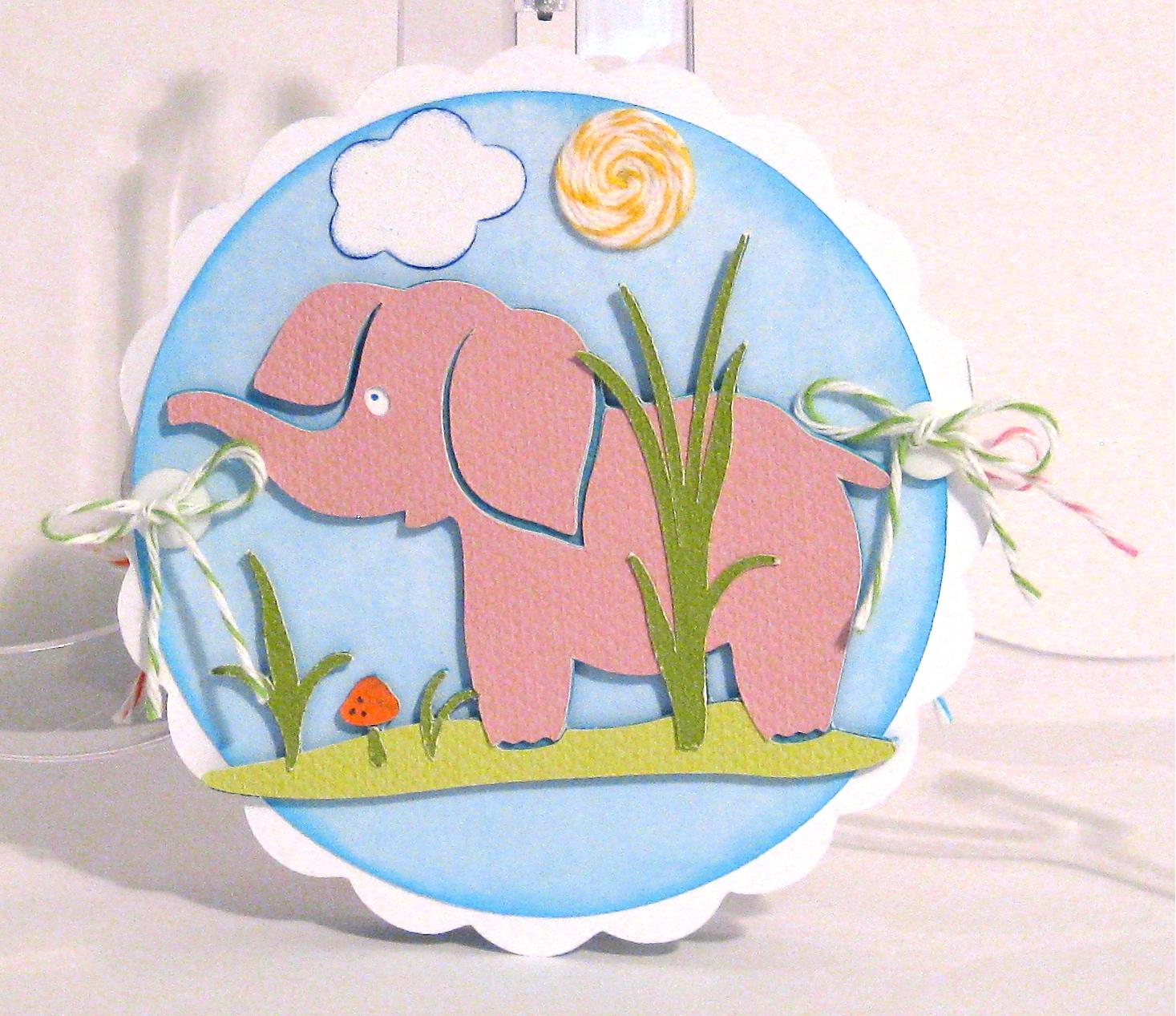 CraftyJAR Creative Designs: Animals Circle Accordion Card