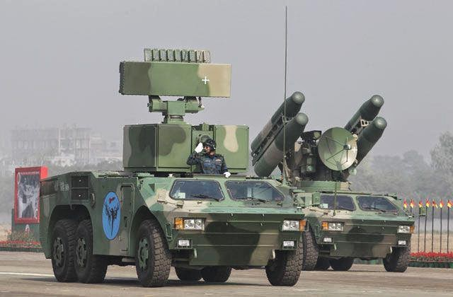 FM-90 Surface to Air Missile (SAM) of Bangladesh
