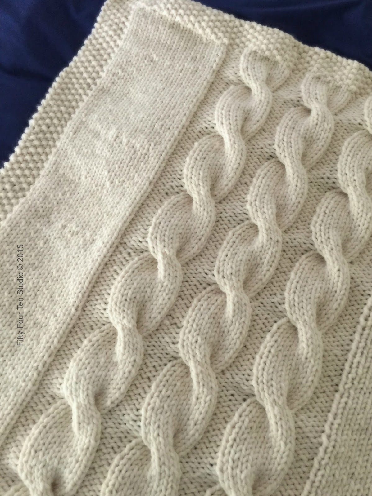 Knitting Pattern For Blanket Sweater : Fifty Four Ten Studio:
