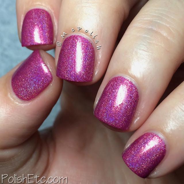 Glam Polish - Think Pink Trio - McPolish - Heart Breaker