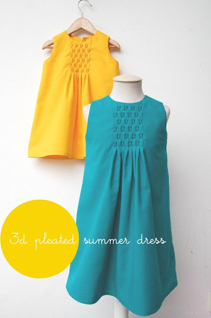 3D smocked dress tutorial