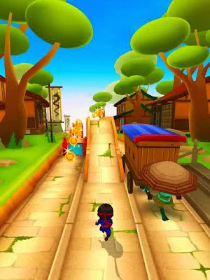 free game ninja kid run