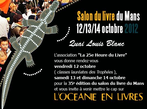 Alain poirrier auteur de polars octobre 2012 - Salon du livre du mans ...