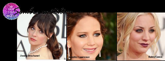 as melhores maquiagens do globo de ouro 2013 Anne Hathaway