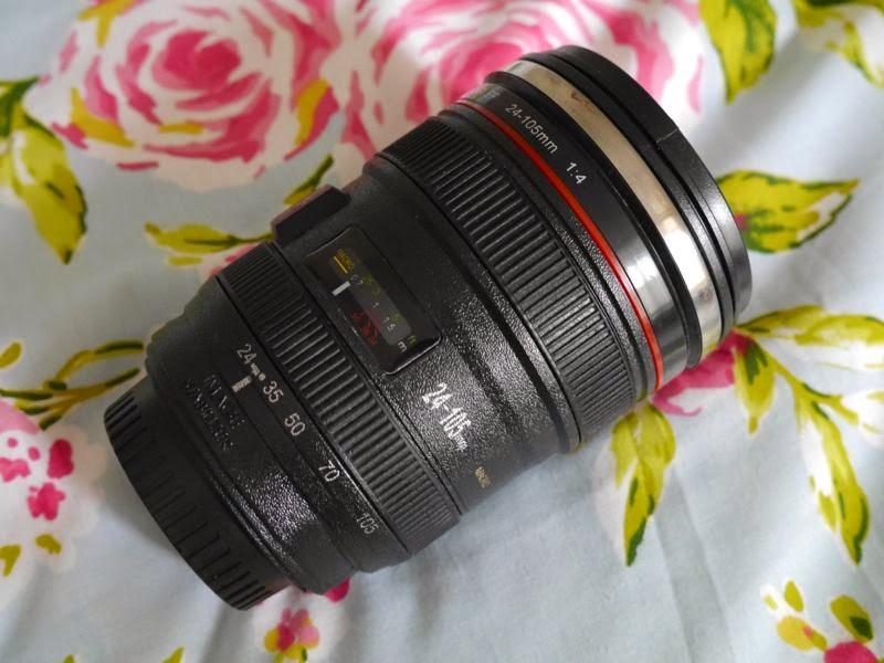 Canon Style Camera Lense Mug