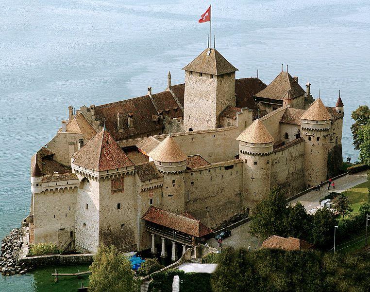 great castles of europe chillon castle