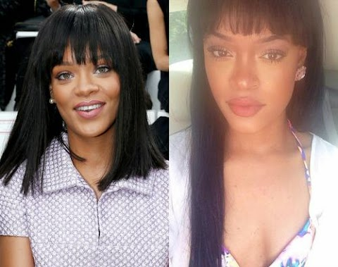 Checkout Rihanna's lookalike+ she has been Making Big Bucks for Endorsements
