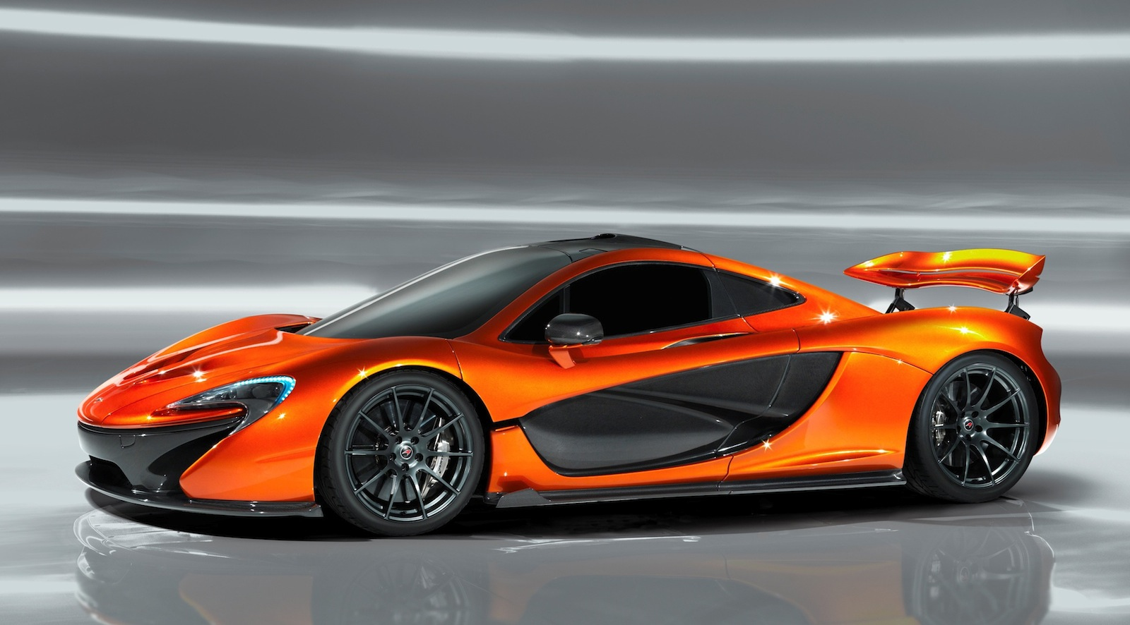 New Official Images McLaren P1 Design Study