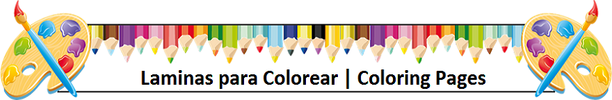 Laminas para Colorear | Coloring Pages
