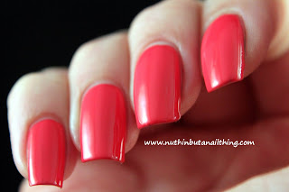 asda george swoosh coral nail polish