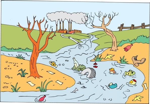 Proyecto aguas residuales for Suelo organico dibujo animado