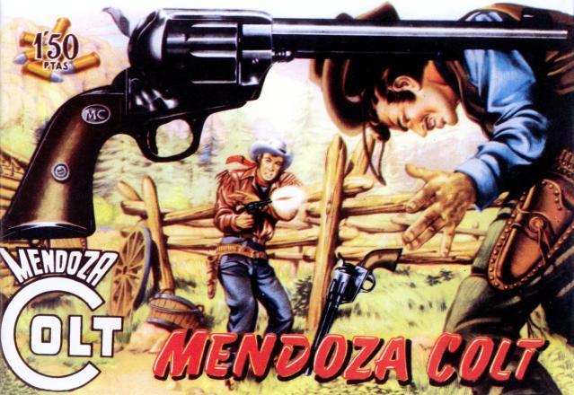 Mendoza Colt - Editorial Rollán - EAGZA