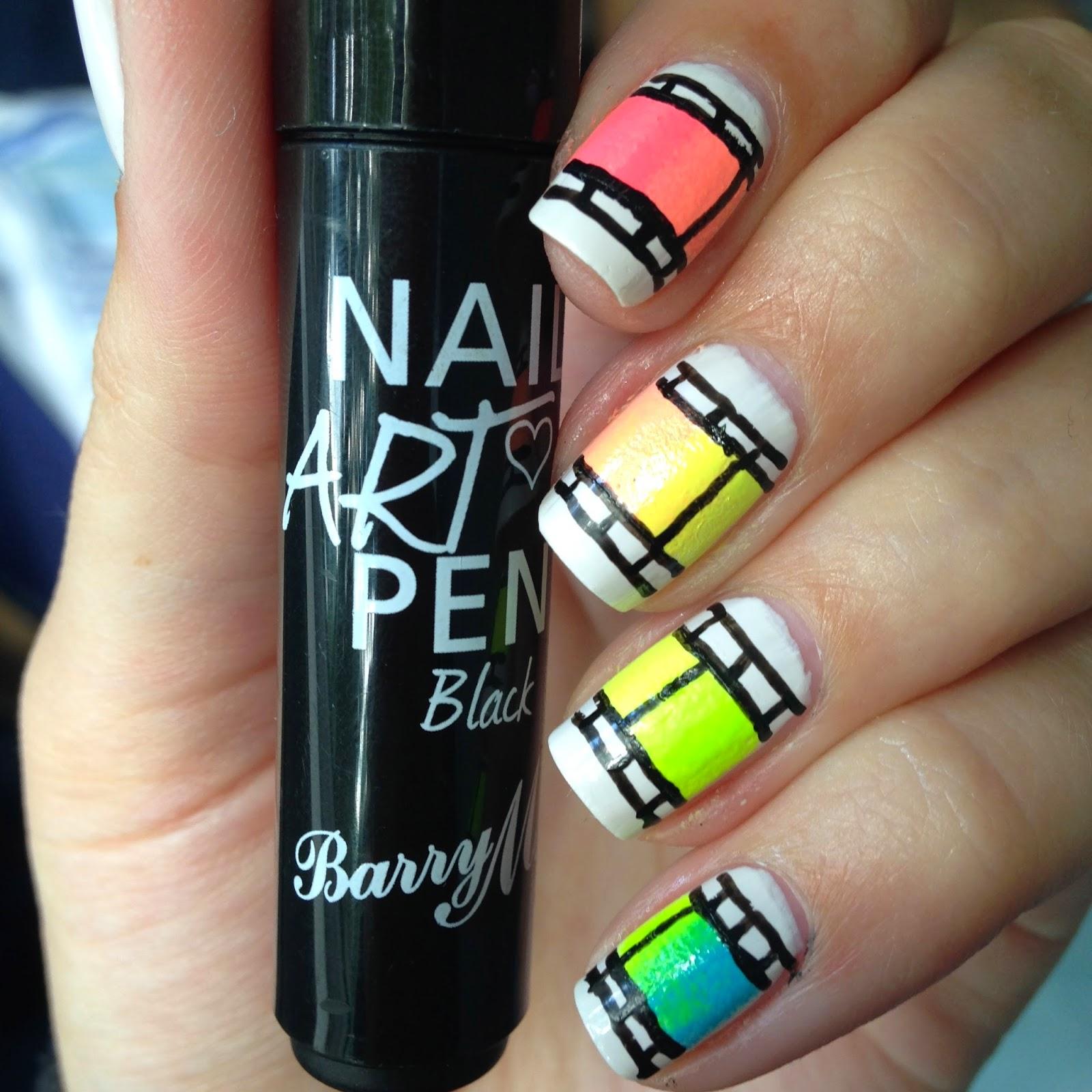 Elaine Nails Nail Art Challenge June Fav Movie