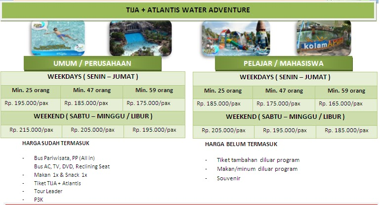 PAKET TOUR ATLANTIS & SEAWORLD ANCOL [Update 2013]