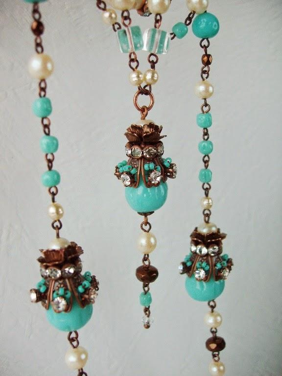 collier bijoux ancien schmuck alte vintage