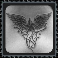 *我背后的纹身*