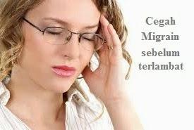 Cara mudah mencegah migrain