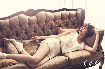 Jo Yoon Hee CeCi Magazine July 2013