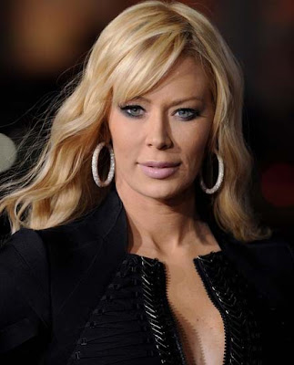Jenna Jameson Diamond Hoop Earrings