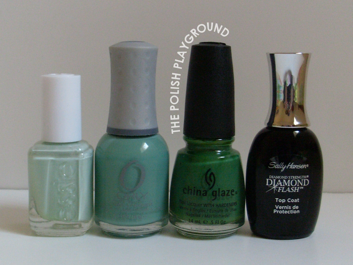 Essie, Orly, China Glaze, Sally Hansen