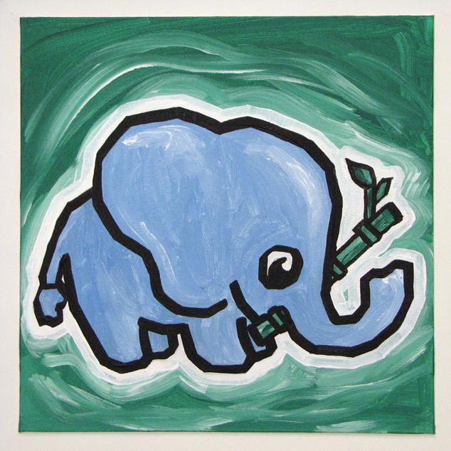Bamboo Elephant4