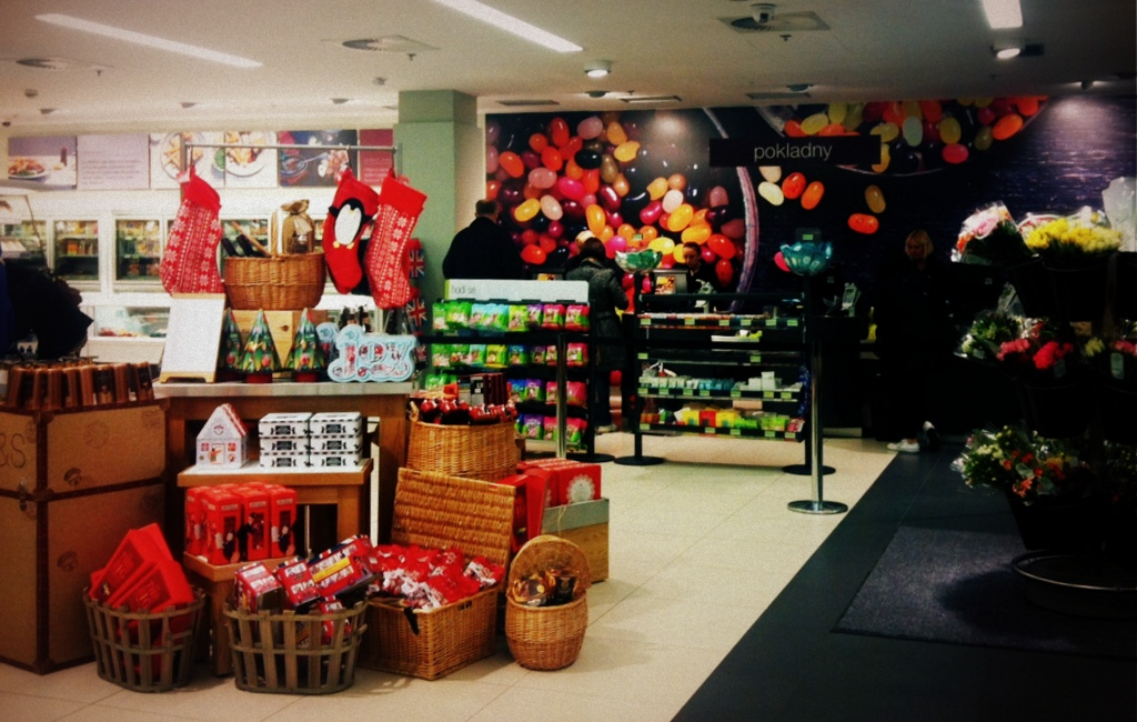 Marks and Spencers in Prague, Czech Republic