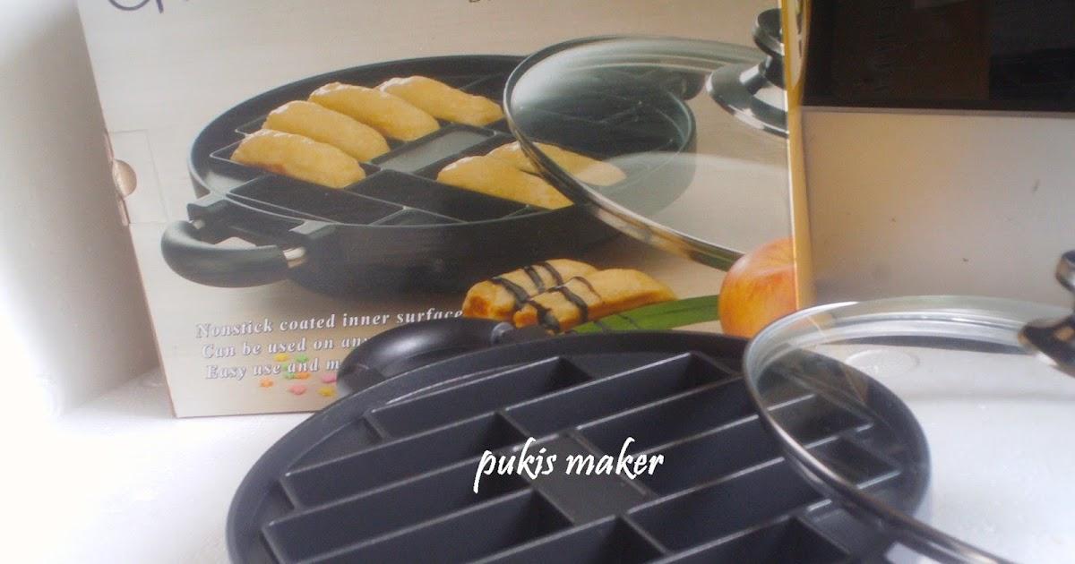Alat Baking Cetakan Kue Murah Snack Maker Teflon 7 10