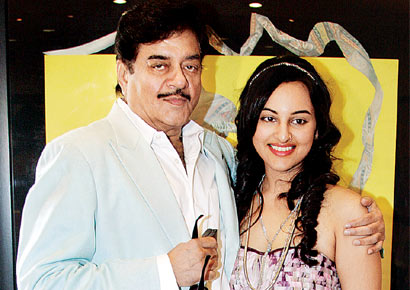 Sonakshi Sinha Familly Photos