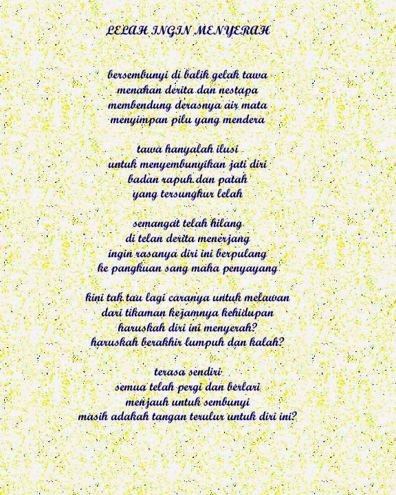 Puisi Dan Geguritan Puisi Basa Jawa Beserta Contoh Contohnya