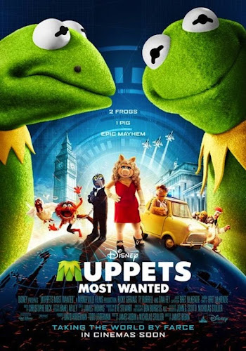 Muppets Most Wanted (BRRip HD Inglés Subtitulada) (2014)