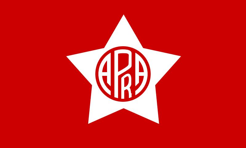Bandera del APRA