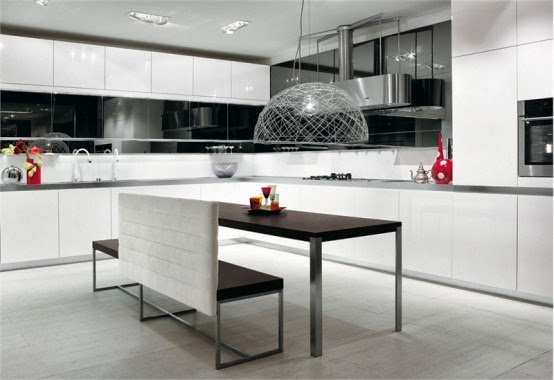 Black White Kitchen Design for Design Inspiration