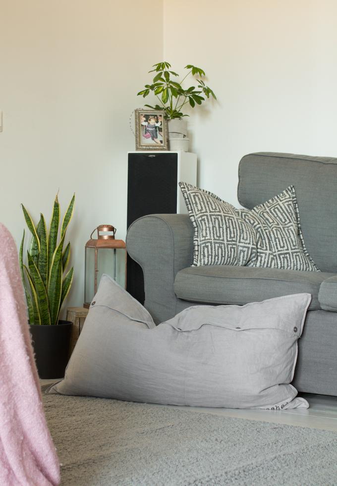 mosa interior tyyny viherkasvit sisustuksessa