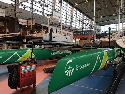 L'AC45 Groupama au Nautic Paris !