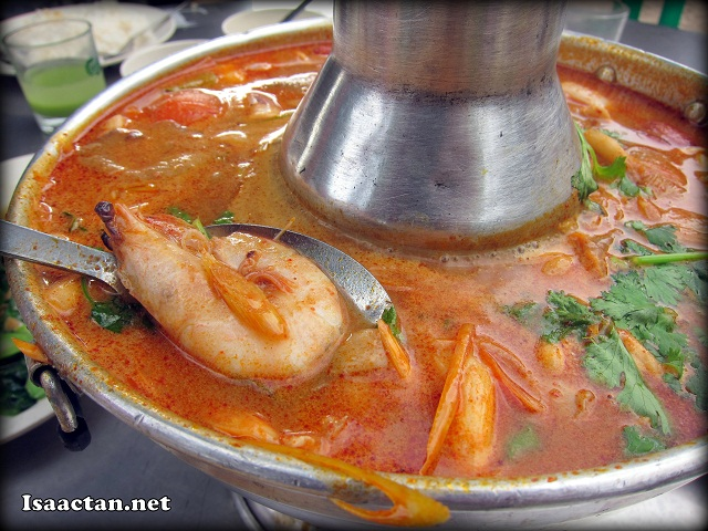 Mixed Seafood Tom Yam - RM34