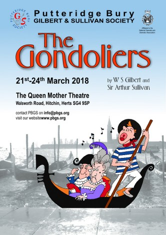 The Gondoliers: March 2018