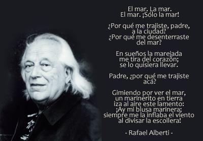 Rafael Alberti, El mar, La mar