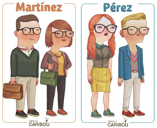 Diseño de personajes por Cristóbal Fortúnez