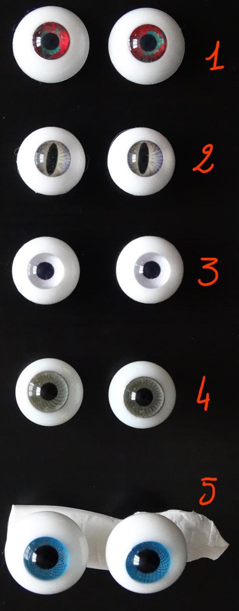 [Vds/ech] yeux 14, 15, 16 mm- [CHERCHE]WIG et yeux silicones DSC06293