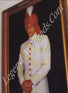 A watchful portrait of the Nawab of Pataudi known to his friends and family as 'Tiger