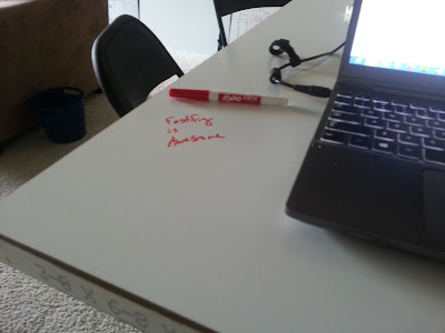 Fastfig's awesome whiteboard table