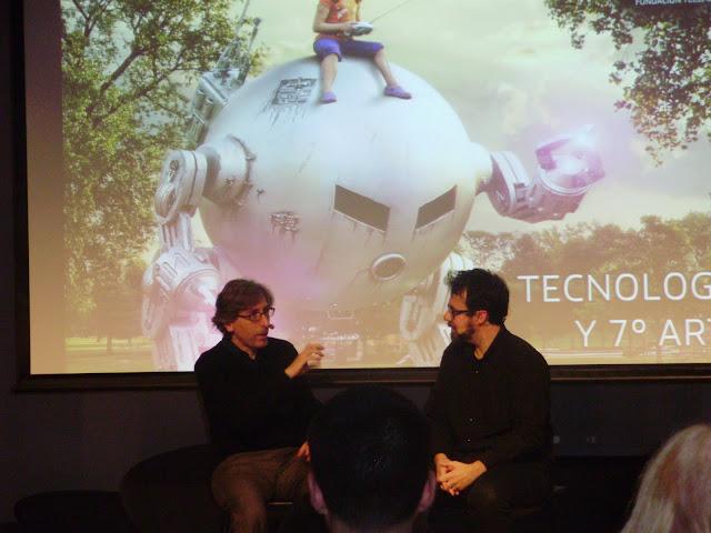 David Trueba y Paco Plaza en el Ciclo de Tecnología y Séptimo Arte