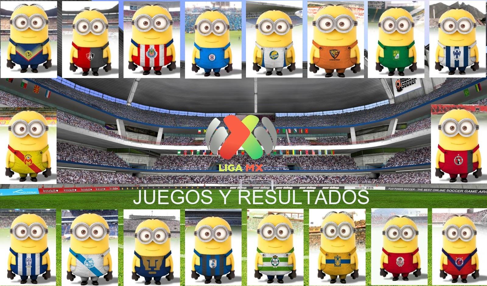 Liga MX – Jornada 5 – Juegos y resultados. Tabla General, descenso ...