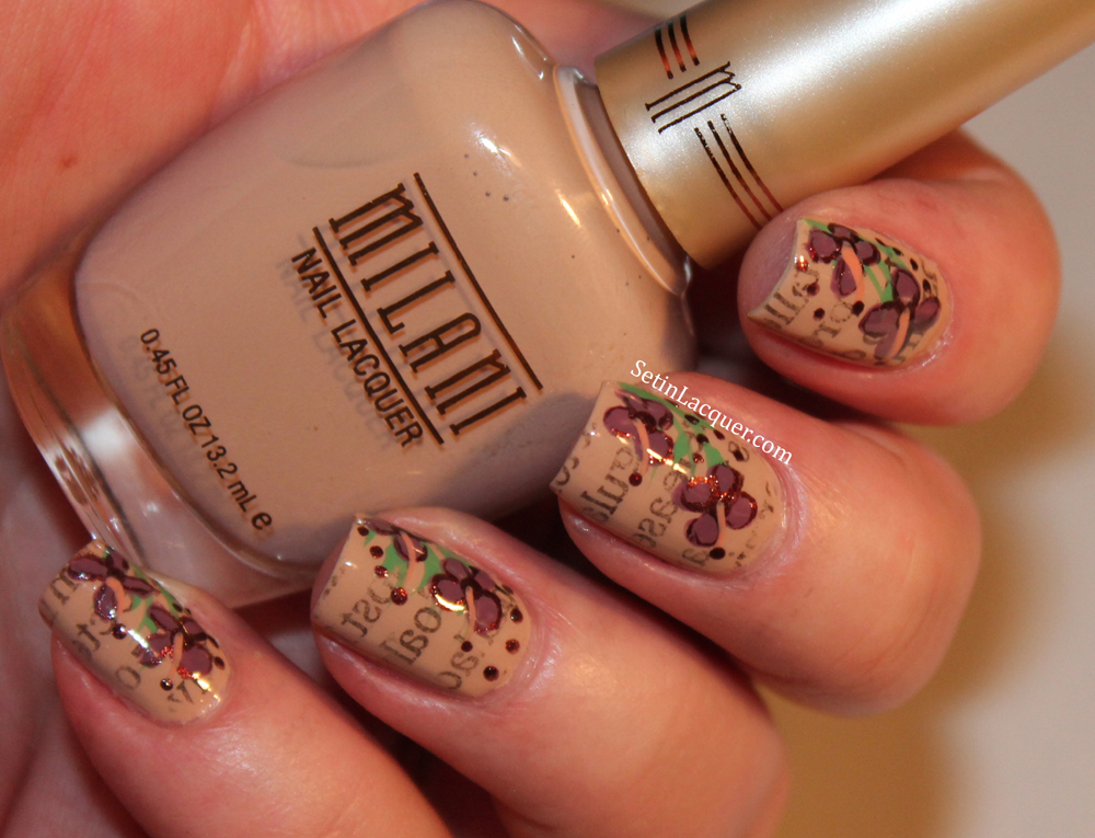 Milani - 2014 nail lacquers - nail art, swatches and review - Set in ...